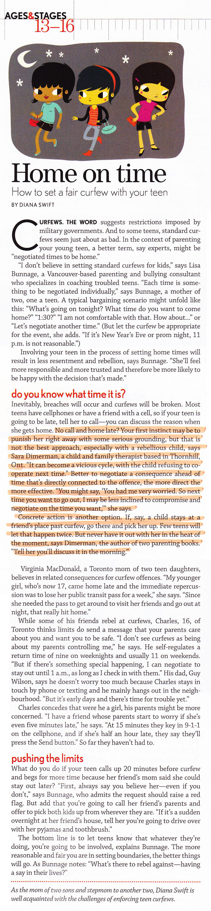 Image: Home on time – how to set a fair curfew with your teen