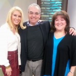 Sara and colleague Dr. Jack Muskat on the set of Rogers TV's Mind Matters with host Stacey Dombrowsky