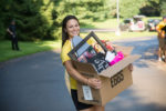 Student moving in to college